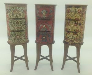 68. Georgian Drum Cabinet
